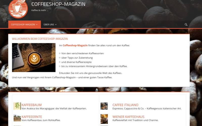 Coffeeshop Magazin