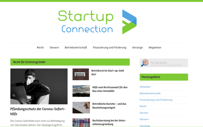 Startup-Connection